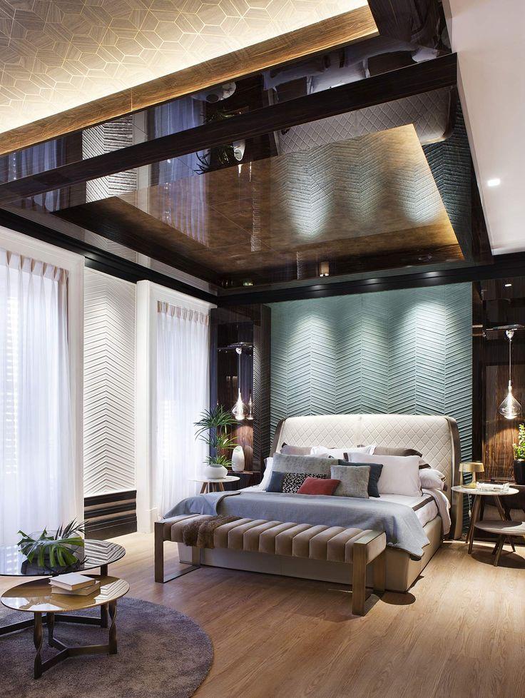 Una suite para el y para ella, fusionando lo mejor de cada estilo con el verde como aliado. #details #deco #decoracion #interiordesign #diseño #arquitectura #livingroom #decor #design