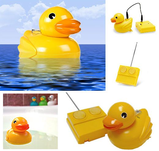 Rubber Duckie Gets Remote Control