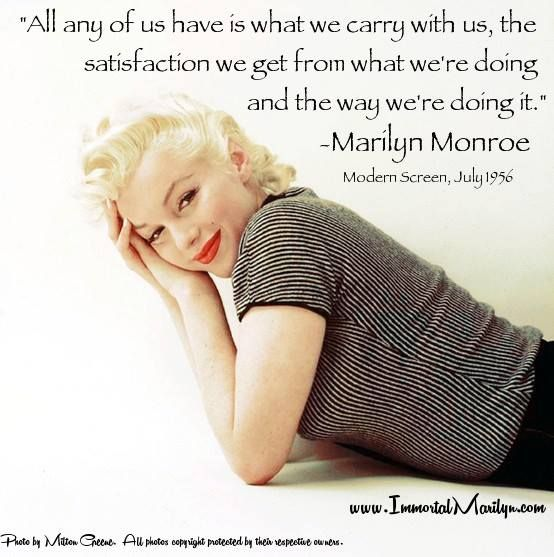Marilyn Monroe Photos And Quotes: 137 Best Images About Marilyn Quotes On Pinterest