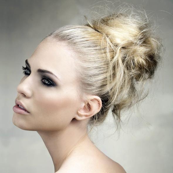 Peinados paso a paso: Peinado recogido natural
