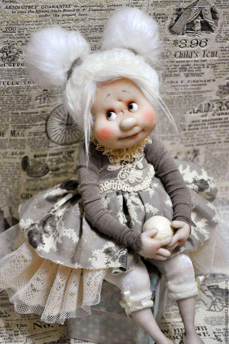 Купить Лизонька - серый, принцесса, балерина, красивая кукла, нежная, подарок женщине, подарок девушке