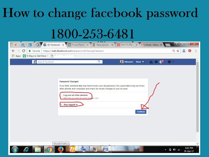 How to recover my Facebook password? • Without any delay
