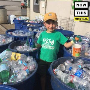 This 7-year-old started his own recycling company #news #alternativenews
