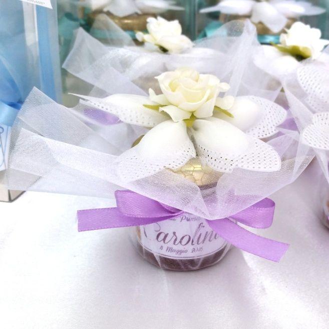 Miele Fiore di confetti Nastro Fiore Tulle
