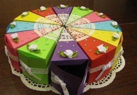 Торт-сюрприз на праздник