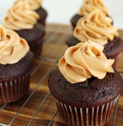 Peanut Butter Chocolate Cupcakes   Simple Dish   Quick, Easy, & Healthy Recipes for Dinner  I made these and drizzled melted chocolate on top!  Best chocolate cake from scratch I have ever tasted!!!  Its a keeper