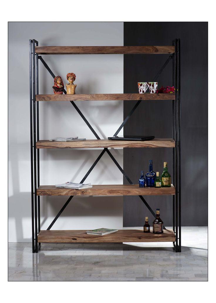 Metall Holzregal. Elegant Badezimmer Holz Regal India Aus Sheesham ...