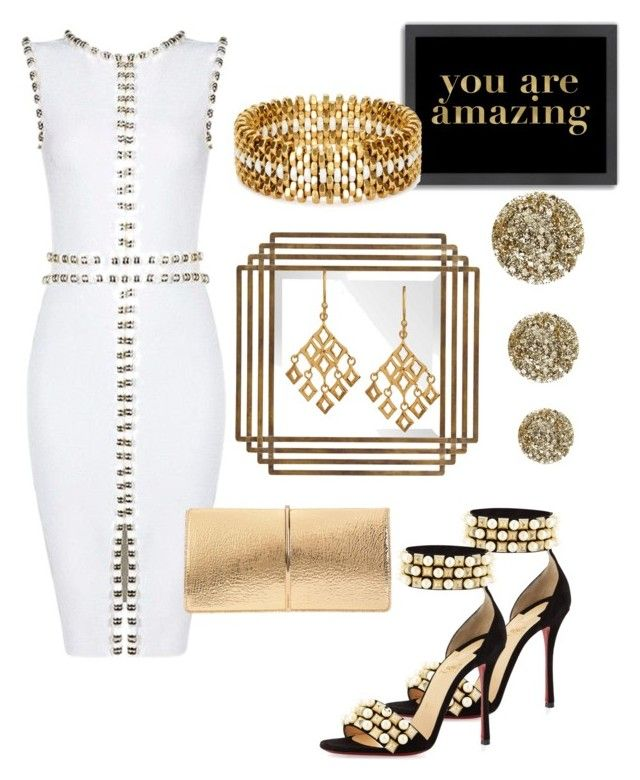 """You are Amazing!!!"" by mdfletch on Polyvore featuring Christian Louboutin, Dinny Hall, Nina Ricci, Americanflat, Alice Menter, Smith & Cult and youareamazing"