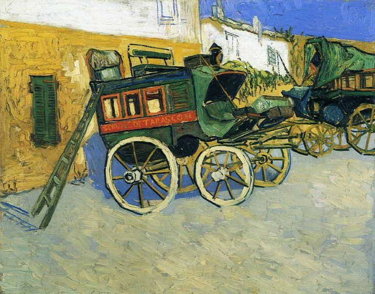 Vincent van Gogh — The Tarascon Diligence, 1888, Vincent van...