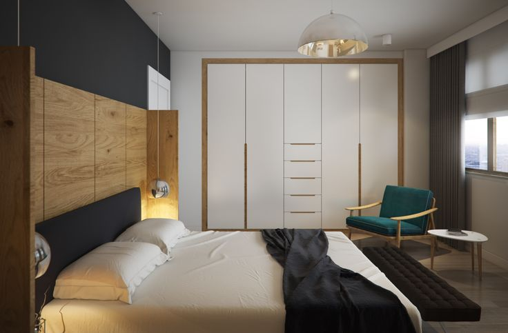 D&S Altas House / Ordu by Yücel Partners Architects .. bedroom modern bedhead dresser make up table contemporary wardrobe