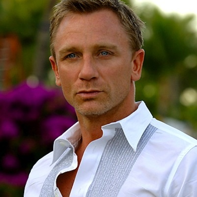 Daniel Craig-He's a perfect Parker, Cecile's CEO fiance, Daniel is tall, muscular, blond and best of all, he oozes power.