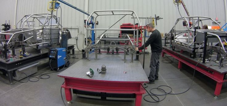 KBM Chassis operates as a separate entity from Kyle Busch Motorsports, but is located inside the team's 77,000-square-foot headquarters in Mooresville, N.C.