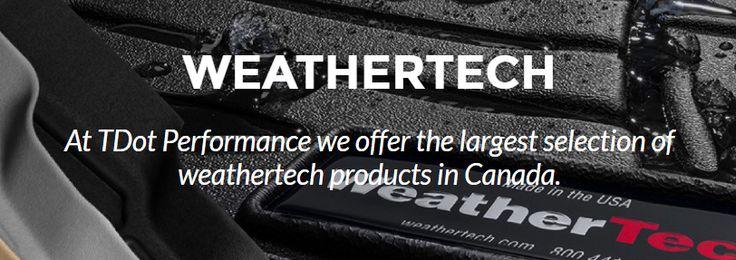 Weathertech Floor Mats, Floor Liners And Cargo Liners Canada | Tdot Performance