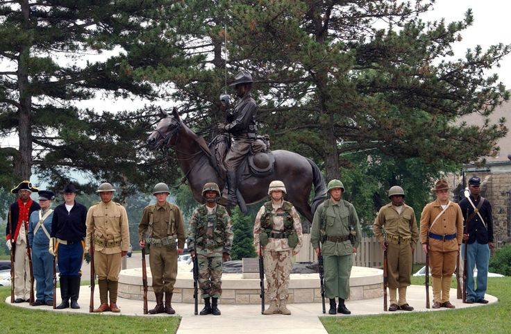 American military uniforms throughout history