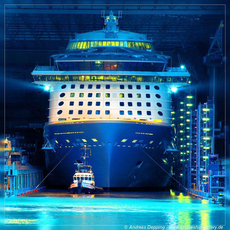 Anthem of the Seas - February 2015 - 1500K3 0406ab - Cruise Ships from Papenburg / Germany