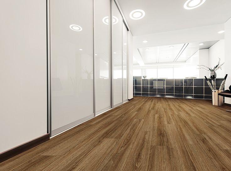 Rocca Oak Coretec, Flooring, Vinyl wood flooring