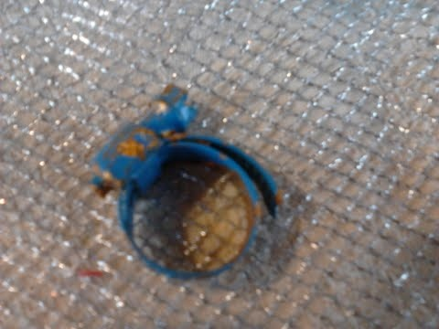 recycled blue ring