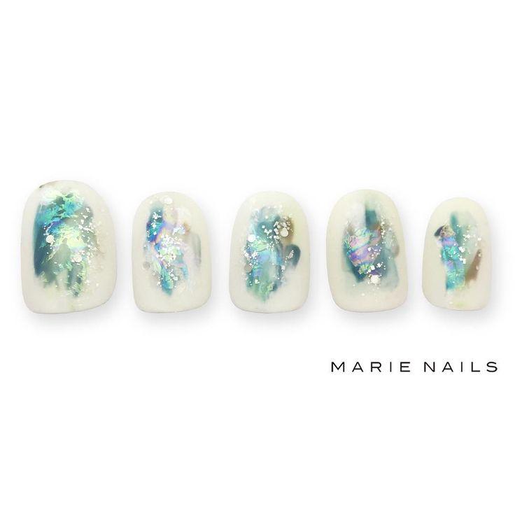 #マリーネイルズ #marienails #ネイルデザイン #かわいい #ネイル #kawaii #kyoto #ジェルネイル#trend #nail #toocute #pretty #nails #ファッション #naildesign #ネイルサロン #beautiful #nailart #tokyo #fashion #ootd #nailist #ネイリスト #ショートネイル #gelnails #instanails #newnail #white #green #autumn
