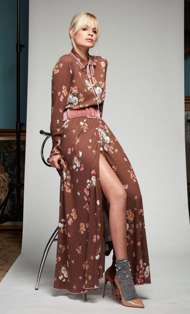 5733adb0da Vistes a la  moda  Te encantará el  vestido camisero floral de ...