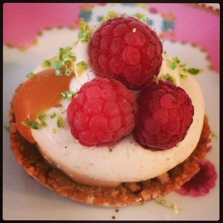Cheesecake cœur de caramel fondant