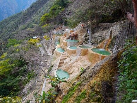 Hot springs to visit around the world.
