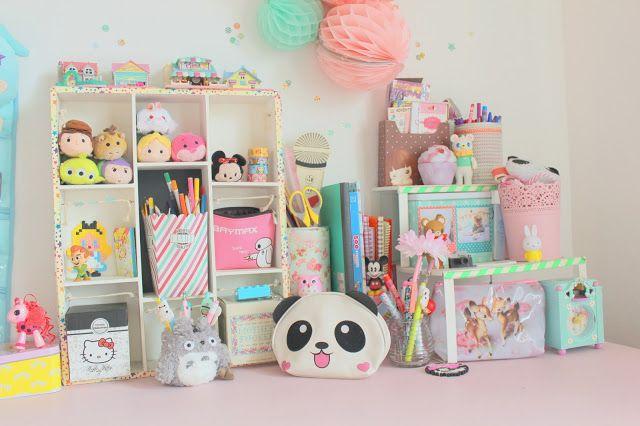 Mon bureau Pastel et Kawaii ?