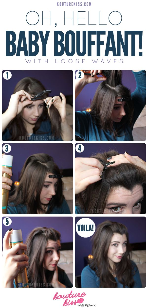The Baby Bouffant With Loose Waves - Kouturekiss - Your One Stop Everything Beauty Spot - kouturekiss.com