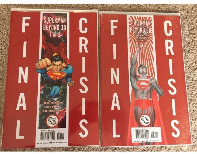 Final Crisis Superman Beyond 3D #1&2 DC Comics    eBay