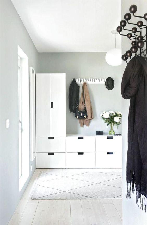 Fantastische Ideen Kleiner Flur Stauraum Und Die Besten 25 Ikea