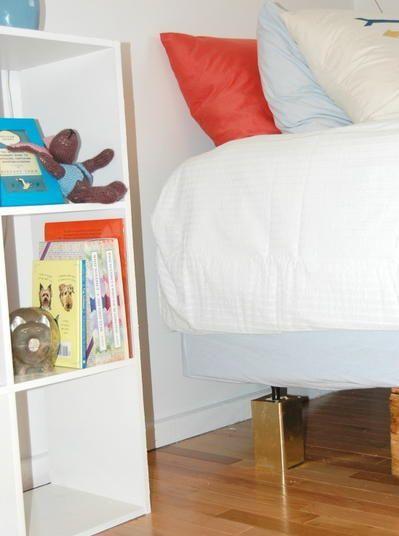 DIY Bed Risers | DIYIdeaCenter.com
