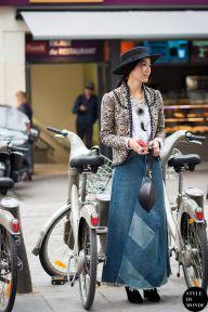 STYLE DU MONDE / Paris Fashion Week FW 2015 Street Style: Yoyo Cao  // #Fashion, #FashionBlog, #FashionBlogger, #Ootd, #OutfitOfTheDay, #StreetStyle, #Style
