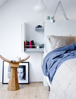 DIY Bed with drawers #bedroom - Bed met lades #slaapkamer. Kijk op www.101woonideeen.nl