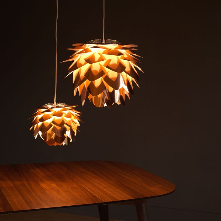 Vita Silvia Copper Pendant Shades | Pendant Shades | Lighting | Heal's