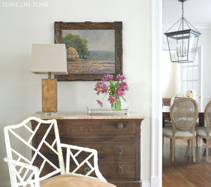 Dining Room Lantern From Circa Lighting Paint Color Swiss Coffee By Benjamin Moore Lighting