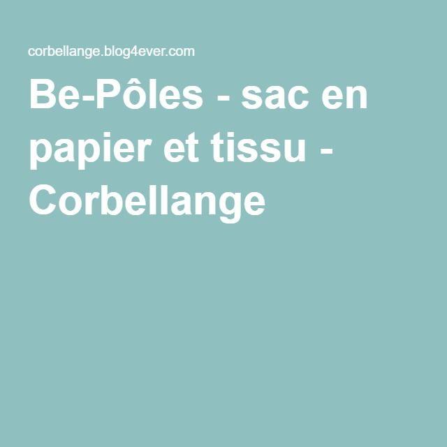 Be-Pôles - sac en papier et tissu - Corbellange
