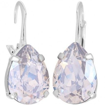 cercei din argint cu cristale swarovski http://www.bijuteriifrumoase.ro/cumpara/cercei-pear-f-14-so-d-lvbck-2107
