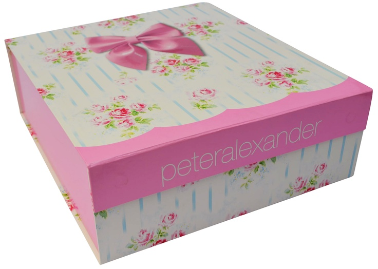 Peter Alexander Floral Print Flat Pack Gift Box