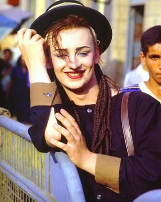 boy george(CUTE SMILE)