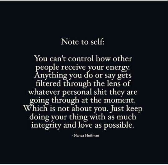 Sums it up quiet nicely... can't control others thoughts or perceptions on what you say or do.  Can't make people understand.