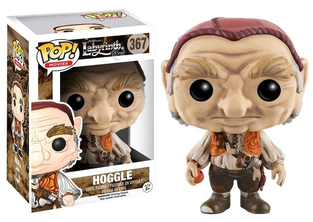 Labyrinth - Hoggle Pop! Vinyl Figure