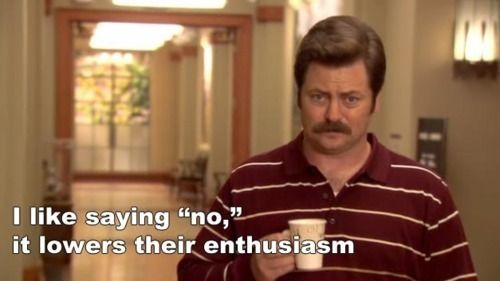 Image result for ron swanson quotes