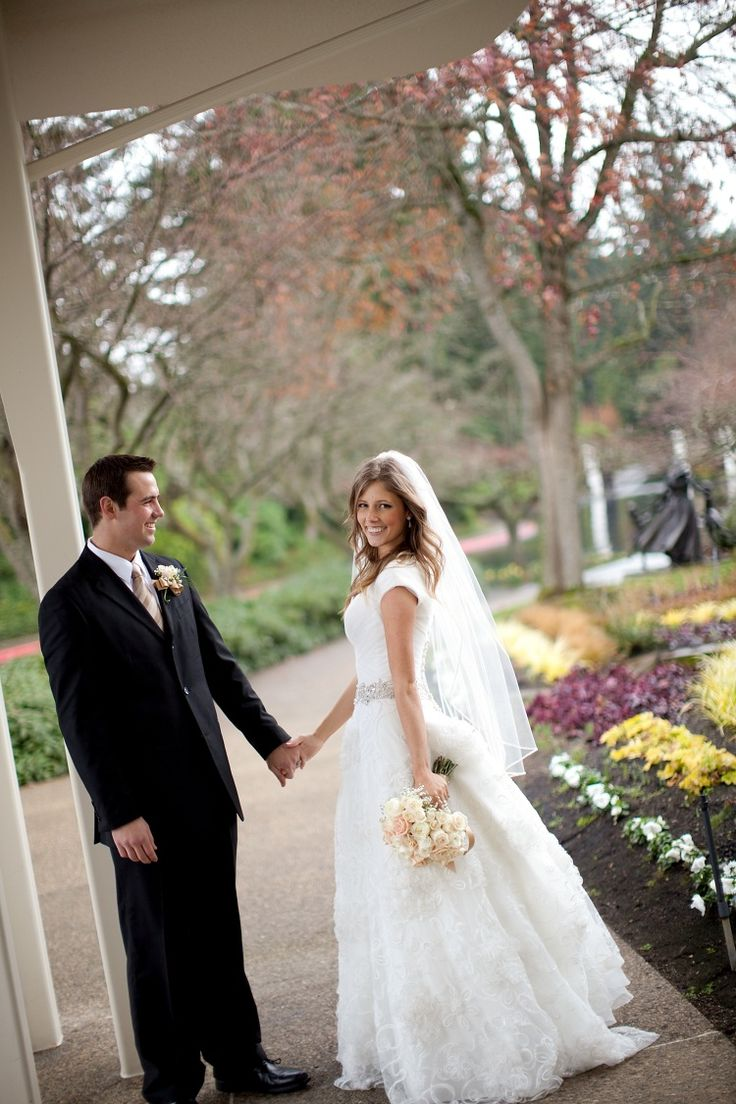 Love it. Gown by Latter Day Bride.