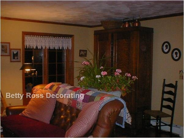 Family Room Decorate Faux Painting