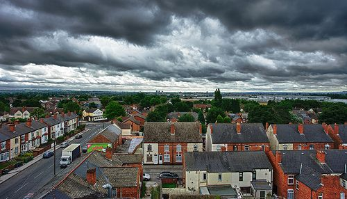 Cloudy Skies Over My Hometown
