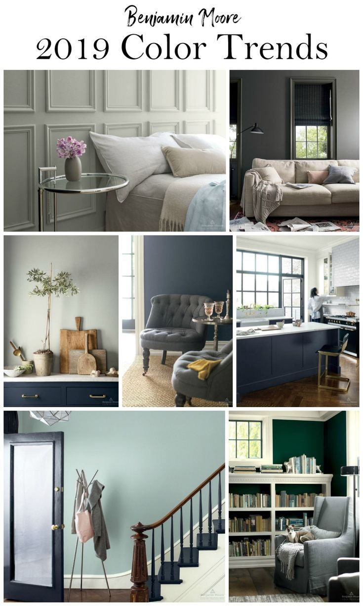 Benjamin Moore Paint Color Trends 2019 | Paint colors for ...