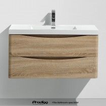 SMILE 100cm Wall Hung Vanity By Prodigg®