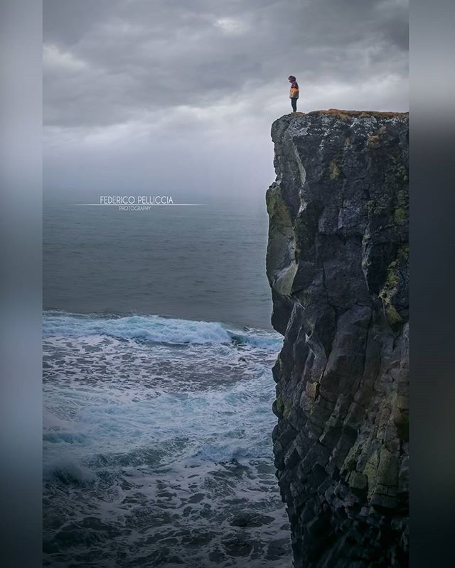 -Man Vs Nature- One of the best shots I've ever done.... #photography #landscape #ocean #clouds #sky #cloudporn #iceland #travels #travelling #travelgram #wildlife #wild #wildlifephotography #canon #nikon #federicopelliccia #photographer #rocks #nature #naturephotography #natgeo #nationalgeographic #tagsforlikes #instadaily #wheniniceland #everydayiceland #picoftheday #vscocam #igersoftheday by (federicopelliccia_photographer). landscape #nature #travels #rocks #photographer #instadaily…