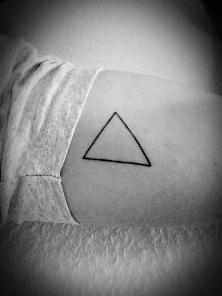 triangle tattoo meaning 30 pinteres. Black Bedroom Furniture Sets. Home Design Ideas