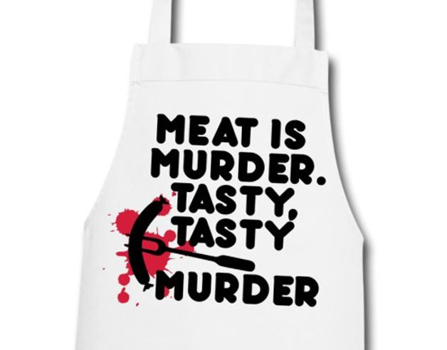Gifts for Men – BBQ & Cooking Apron for men: Meat is tasty ... – a unique product by GrillWear on DaWanda