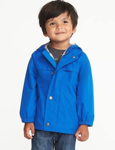 0dbbfc89a Old Navy Baby Hooded Raincoat For Toddler Boys Harmony Blues Size 2T ...